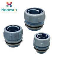 China Screw On Hose Flexible Conduit Connector MPJ Electrical Equipment Long Life wholesale