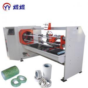 China PVC Insulation 10HP 1600mm Tape Roll Cutting Machine wholesale