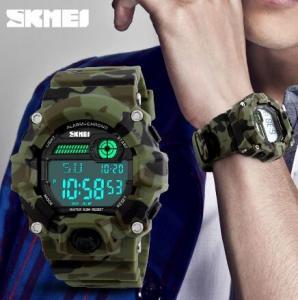 China Fashion Men Alarm Chrono Water 50M Resist Multifunction Outdoor Sport Wrist Watches 1197 wholesale