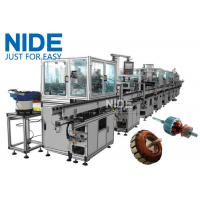 China Armature Auto Winding Machine Electric Motor Production Line wholesale