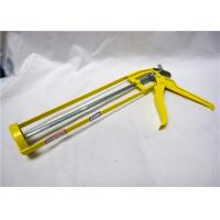 China Colorful Cordless Metal Caulking Gun Skeleton Type For Sealant 9 Inch wholesale