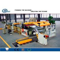 China Custom Cold Rolled Steel Coil Galvanized Metal Slitting Line With 10-16m/min Speed wholesale