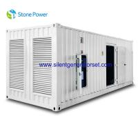 China CUMMINS Silent Diesel Generator Set 1000kw 1250kva With KAT50-G8 Engine wholesale