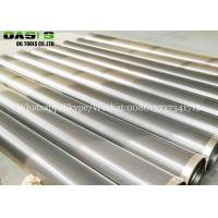 China SUS304 SS316 TP316L Stainless Steel Wedge Wire screen Mesh filter for water well drilling on sale