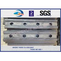 Buy cheap Standard BS100A Railway Fish Plate For Rail Fastener / Rail Joint Bar from wholesalers