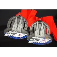 China Germany Carnival Gifts Metal Awards And Medals 3D Effect With Glitter Colors wholesale
