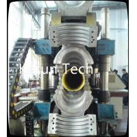 China High Output Double Wall HDPE Pipe Extrusion Machine Single screw wholesale