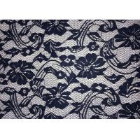 Quality Beauty Chemical Lace Fabric / Cupion Lace Fabric With Polyester / Cotton for sale