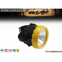 China 1W 4000 Lux LED Mining Light With 2.2Ah Li-Ion Battery Water Proof IP68 wholesale