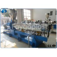 China Twin Screw Compounding Plastic Extruder Machine For PP Sheet / HDPE Pipe Production wholesale