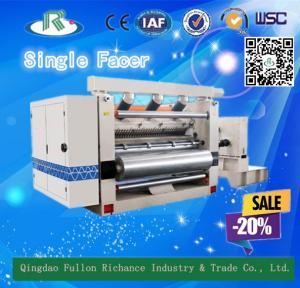 China Inner Vacuum  Suction  Type  Corrugated  Machine  Single  Facer wholesale