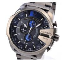China Wholesale NEW DIESEL DZ4329 Mens Watch Mega Chief Gunmetal Chronograph Stainless wholesale
