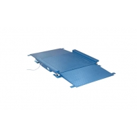 China Thin Platform Two Tons 500mm Ramps In Floor Scale wholesale