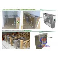 China Scenic Entrance Three Arm Tripod Turnstile gate automation systems For School And Tourism wholesale