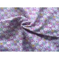 China Classic Style Floral Flannel Fabric Waterproof Cotton Flannel Laminated Cloth Diaper wholesale
