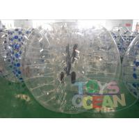 China Custom Bouncy Adults Inflatable Bumper Ball Waterproof  Ultimate For Rent wholesale