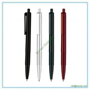China slim style plastic hotel ballpoint pen,retractable hotel pen wholesale