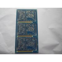 China HDI thermostat blank pcb board , 4-layer gold plating PCB with high tg FR-4 wholesale