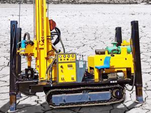 China Crawler Type Pneumatic 400meter Water Borewell Machine wholesale