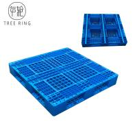 China Full Perimeter Runner HDPE Plastic Pallets , Recycled Plastic Pallets For Stacking Option wholesale