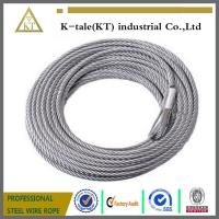 DIN3055 7x7 2mm galvanized steel wire cable