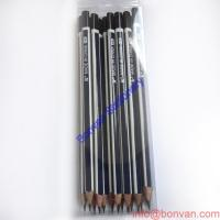 China Hexagonal Shape Stirp HB Pencil With Dip Head wholesale