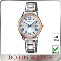 China Ladies MOP Auto Mechanical Watch , Mechanical Hand Watch With Stainless Steel Case wholesale