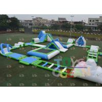 China Outdoor Kids Inflatable Water Game Giant Floating Aqua Sport Park For Ocean wholesale