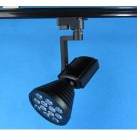 China Restaurant 60 degree 12W Black Flexibale Bridgelux LED Track Lighting Fixtures 100 x 180mm wholesale