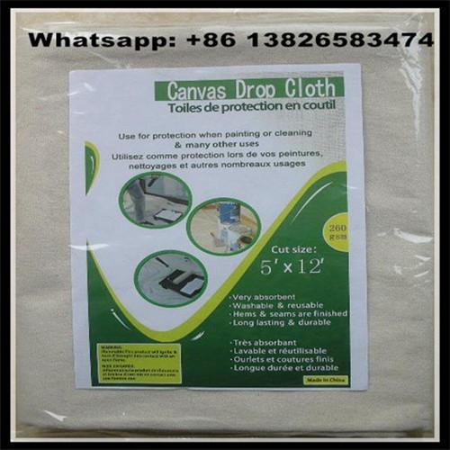 260 Gsm 12x15 Canvas Drop Cloth China Supplier 8oz 10oz