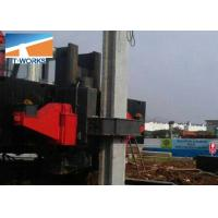 China T-WORKS Hydraulic Piling Machine ZYC Series 150 Ton Without Noise And Vibration wholesale