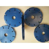 Buy cheap 125mm Hot Pressed Tuck Point Diamond Blades Three Layers Type Wet Use / Dry Use from wholesalers