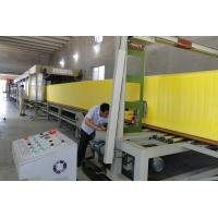 China Polyurethane Vertical Foam Block Cutting Machine with Foam density 13kg/m3 to 60kg/m3 wholesale