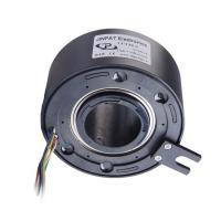 China Fiber Brush Technology Rotary Joint Slip Ring Routing Water Or Gas For Automobile Industry on sale