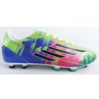 China Customized Comfortable Outdoor Soccer Shoes With PU Upper/TPU Outsole on sale