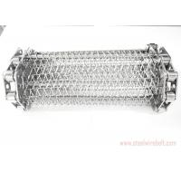 China Chain Edge Stainless Steel Wire Mesh Conveyor Belt 20-100m Length Anti Acid wholesale