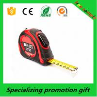 China Carbon Steel Blade Retractable Tape Measure with Red ABS case wholesale