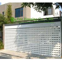 China White Color Remote Control Aluminum alloy rolling garage door, Powder coating Surface on sale