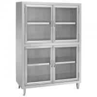 China Standing Type Stainless Steel Kitchen Base Cabinets Stable Structure wholesale