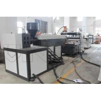 China Semi Automatic Plastic Rope Making Machine / Extrusion Line 900 - 1300mm Width wholesale