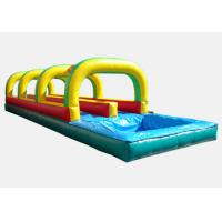 China inflatable tropical slide ,hot sale kids tunnel inflatable slip slide (Immanuel) wholesale