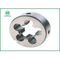 China NPT HSS Thread Cutting Dies With White Finished Round Shape ISO4230 Approval wholesale