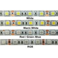 China 24W 12v RGB 5050 SMD LED Strip Lights IP68 Waterproof Outdoor LED Lighting wholesale