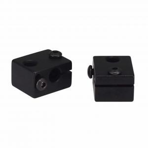 China Aluminum 20*16*12mm E3D V6 3D Printer Heater Block M6 Screw Thread wholesale