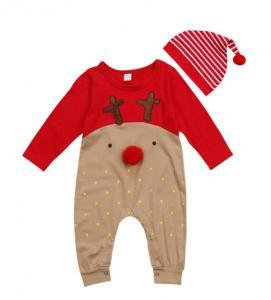 China Unisex Organic Cotton Baby Clothes Cute Newborn Infant Onesies Long Sleeve wholesale