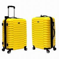 China Trolley Luggage Set with Four Universal Wheels, ABS+PC Materials on sale