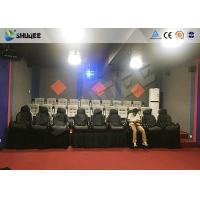 China Amusement Park 7D Cinema System With Dynamic Motion Base / 7D Simulator Cinema wholesale