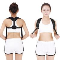 China Adjustable Neoprene Shoulder Support Brace Body Sitting Posture Back Corrector Clavicle wholesale
