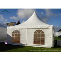 China Business Solutions Pagoda Tents PVC Fabric For  4m * 4m Flame Retardant wholesale