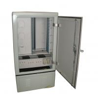 Buy cheap Stainless steel material 576 cores cable cross-connection cabinet from wholesalers